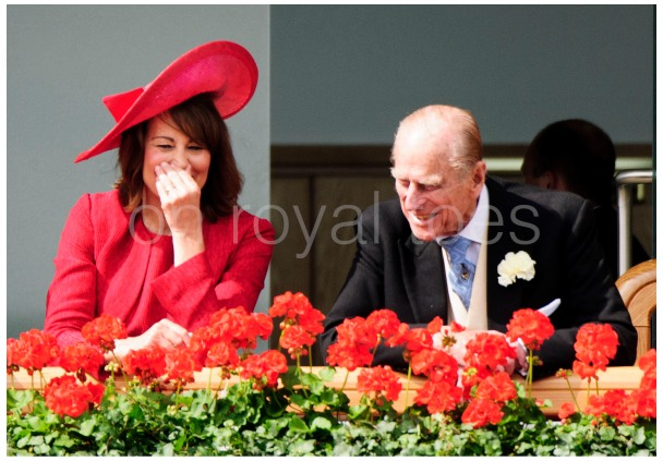 The Duke and Kates' Mum Carole at Royal Ascot